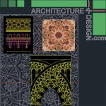 Islamic architecture ornament file