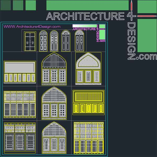 340 Islamic Architecture Ornament Motifs And Arches For
