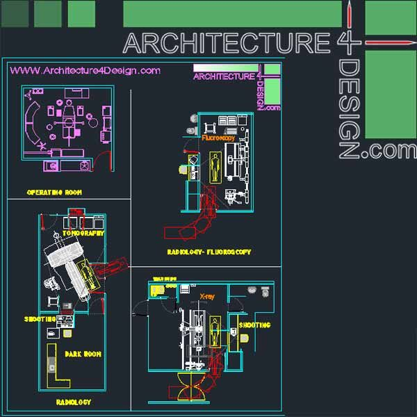 hospital architectural plan