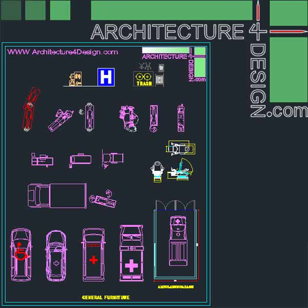 Hospital Furniture For Autocad Dwg File Architecture For Design