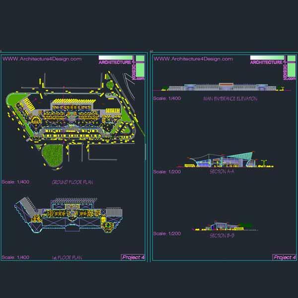 bus terminal design ideas