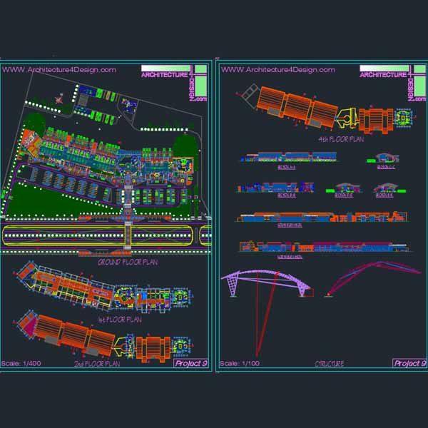 bus terminal design samples