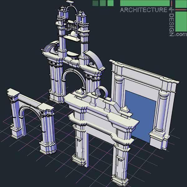 3D tabernacle frame