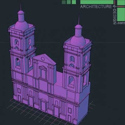 Classical architecture 3D models