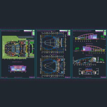 how to design an auditorium