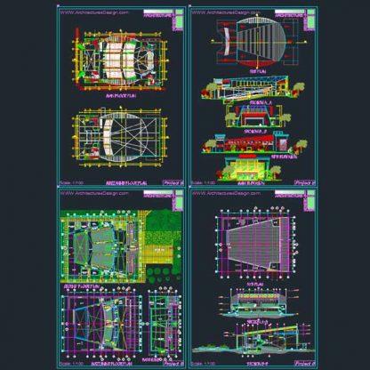 auditorium design samples
