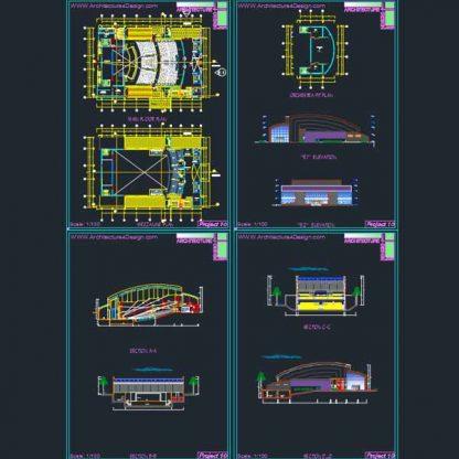 conference hall architecture design