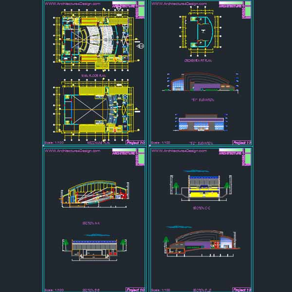 conference hall architecture design