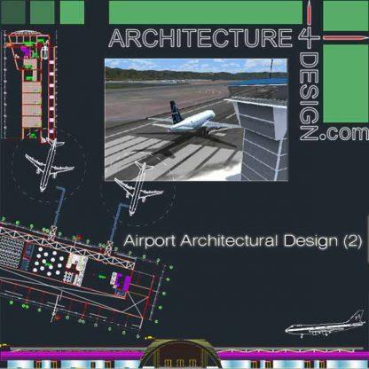 Airport terminal design samples autocad dwg