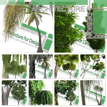 high-resolution cut-out trees for download