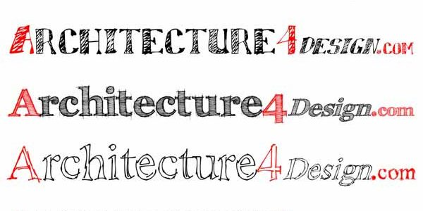 64 sketch fonts for architectural presentation