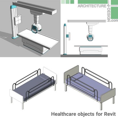 revit X-ray machine family