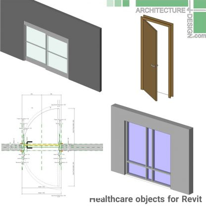 Revit hospital windows