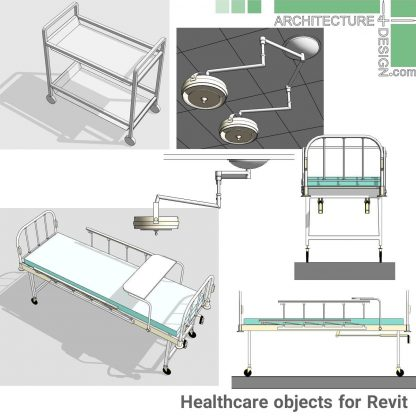 revit medicine objects