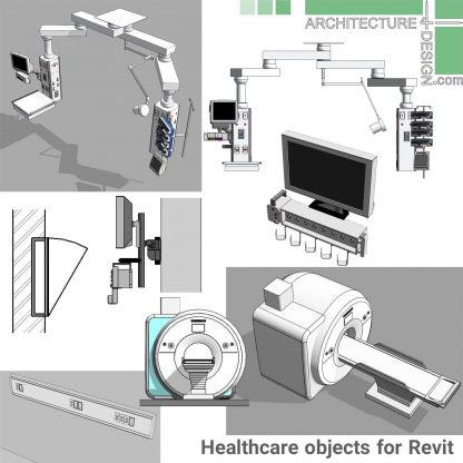 Revit MRI equipment