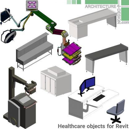 Revit veterinary equipment families