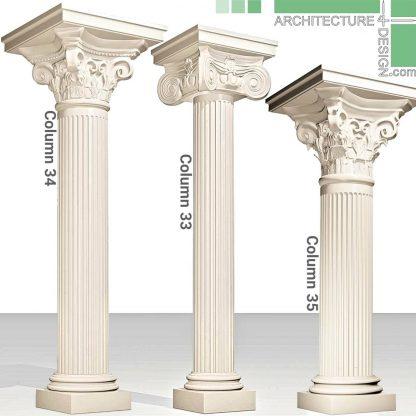 Classical 3D columns