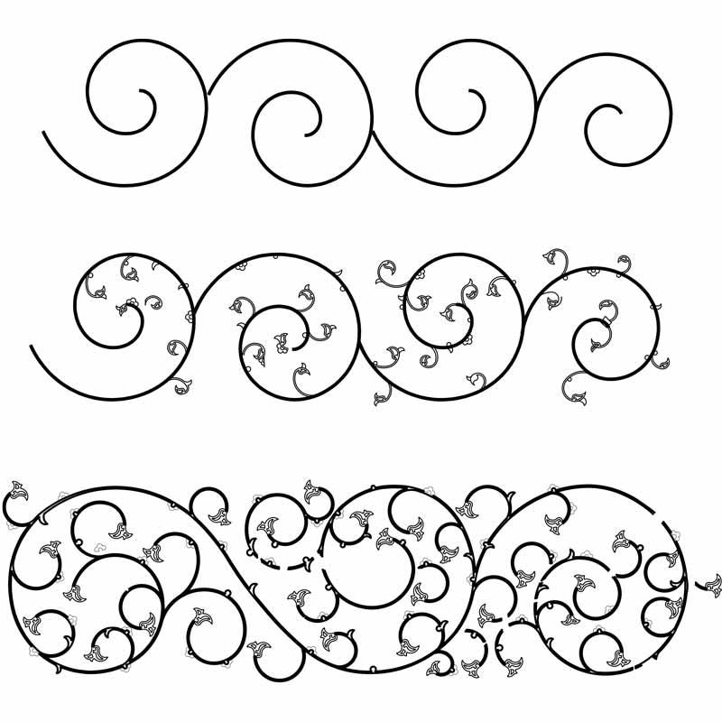 Design arabesque