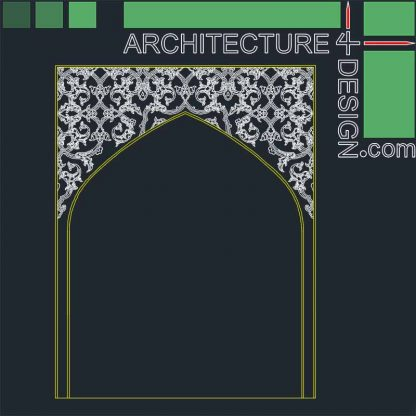 Arabesque arches
