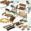 SketchUp 3D models of Benches